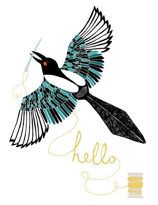 Magpie by Amy Blackwell