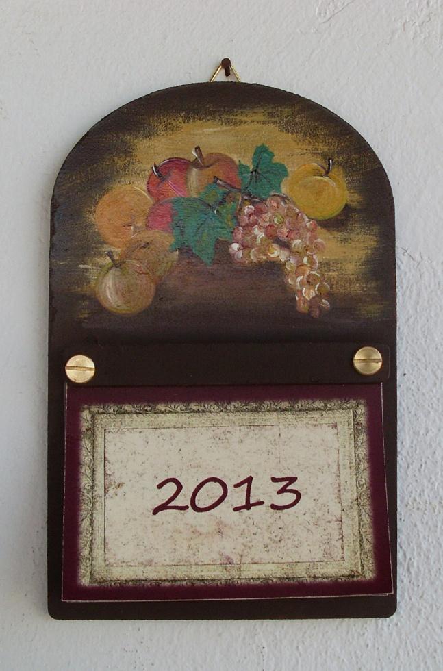 "My new ""vintage style"" calendar..."