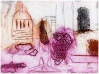 Printer Makers   Contemporary Art   Louise Davies - City Skyline