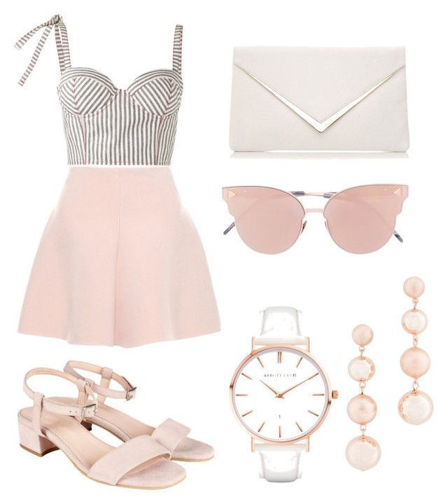 """Pelepăpele"" by neoneo91 on Polyvore featuring Rosie Assoulin, RED Valentino, So.Ya, Rebecca Minkoff and Abbott Lyon"