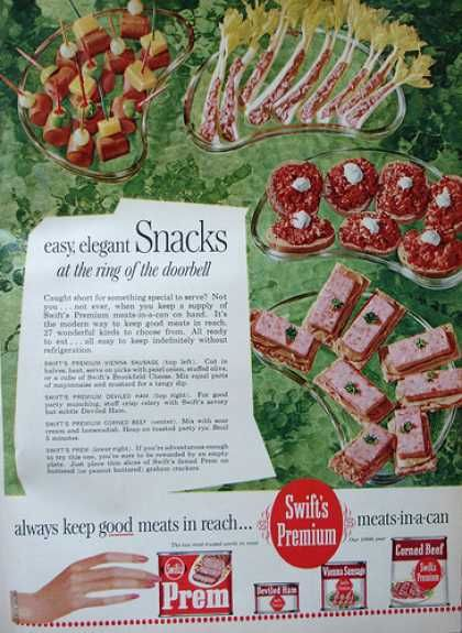 Snack Ad 1962