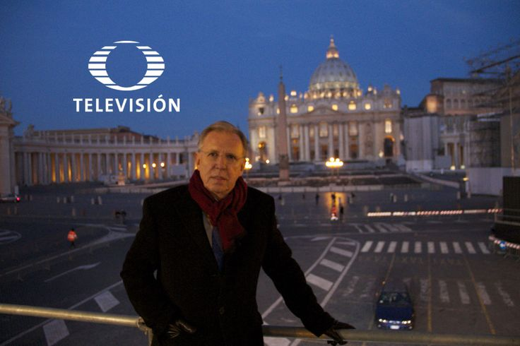 Checa en esta galería las imágenes de Joaquín López Dóriga en sus visitas o coberturas periodísticas en el Vaticano
