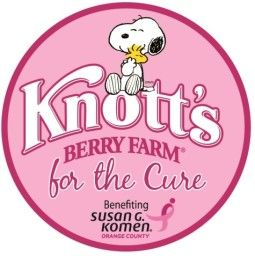 "Susan G. Komen and Knotts Berry Farm ""Pink Ticket Day"""