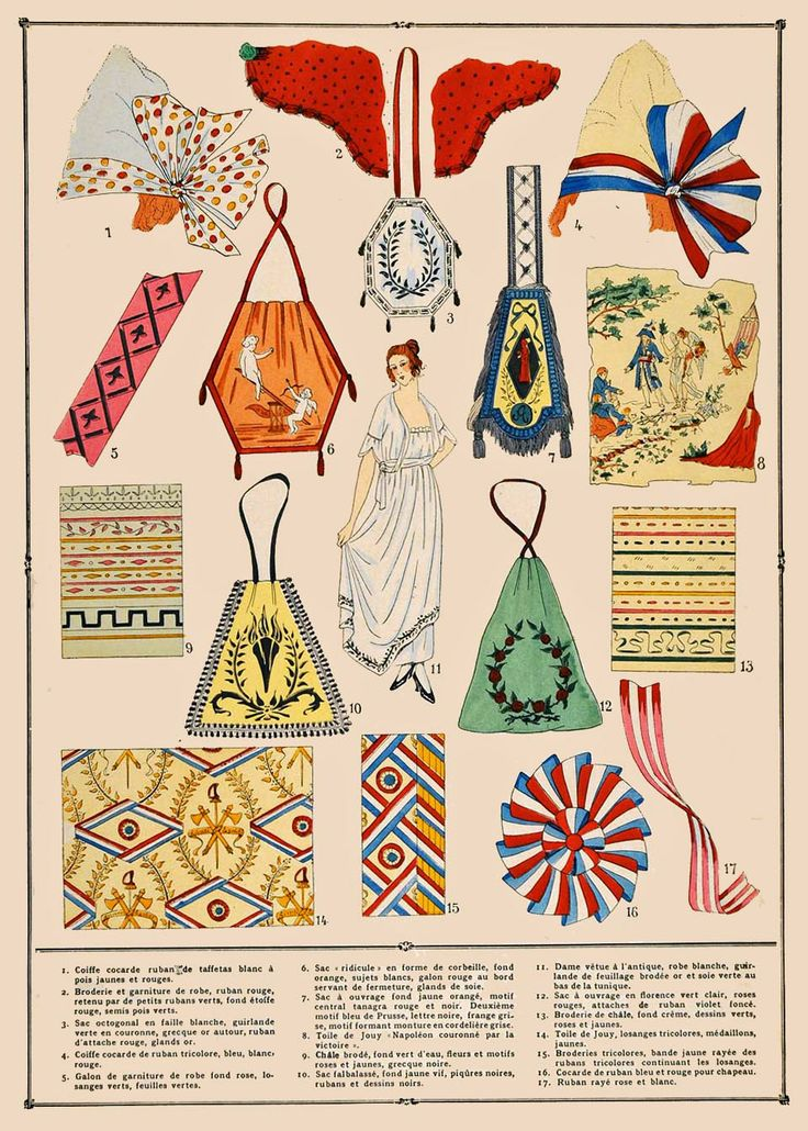 1920's French Fashion Accessories advertising.