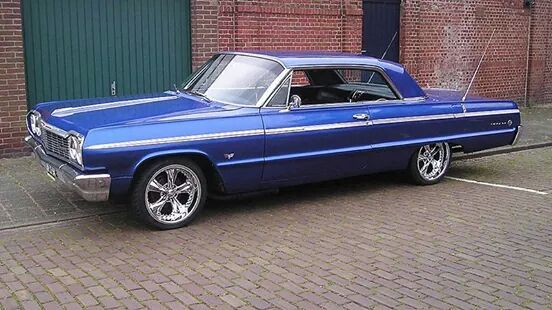 '64 Impala.   Why doesn't Chevy make 2 door impala now??? They are all 4 doors.  Go back in time Chevrolet! !!!
