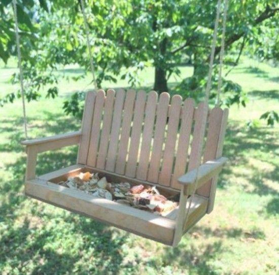 Swing Bench Popsicle Bird Feeder