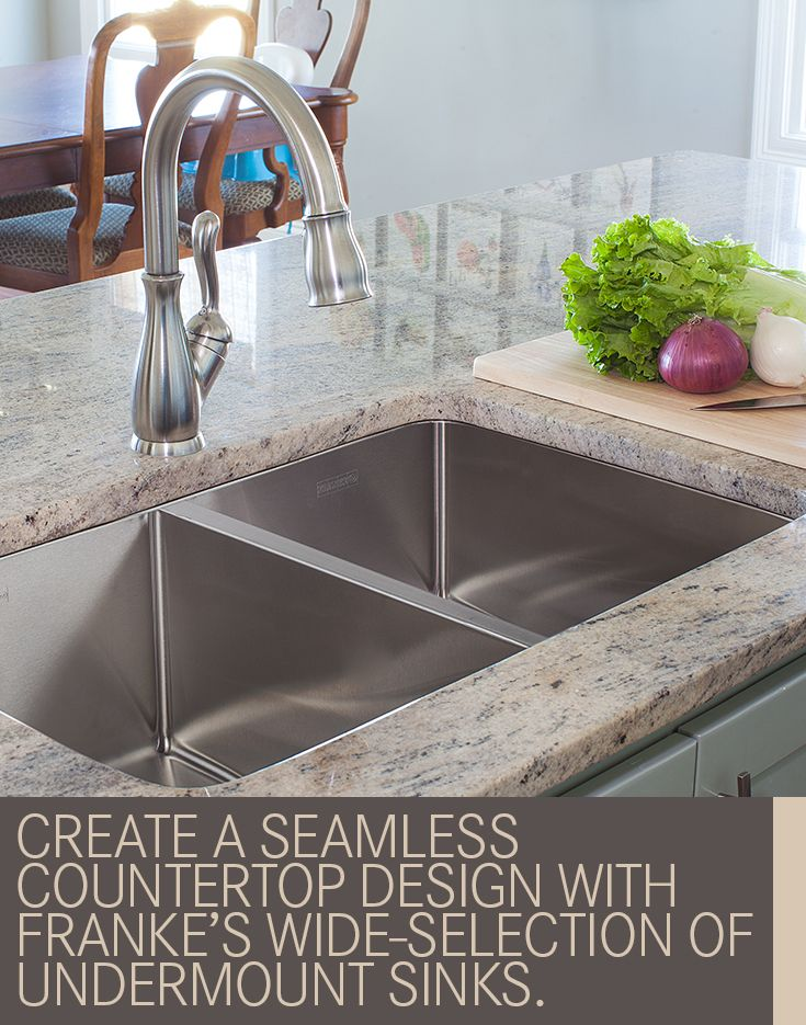 create a seamless countertop design with frankes wide selection of undermount sinks. Interior Design Ideas. Home Design Ideas