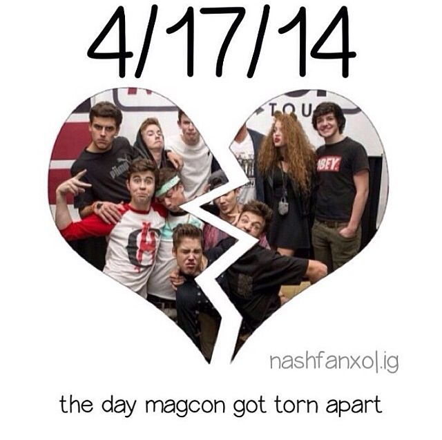 R.I.P. Old magcon. :( THATS MY BIRTHDAY THE MOST SADDEST DAY OF MY LIFE :'(