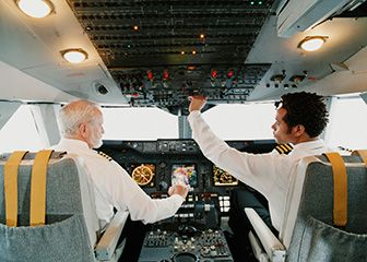 An airline pilot generally only flys manually around 3 minutes in any flight. Take off and landing.