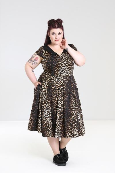 plus size Hell Bunny Panthera dress NZ b5d084bcd