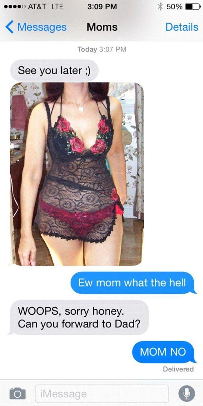 Parents Who Accidentally Texted Their Kids Inappropriate Things | ViraLuck