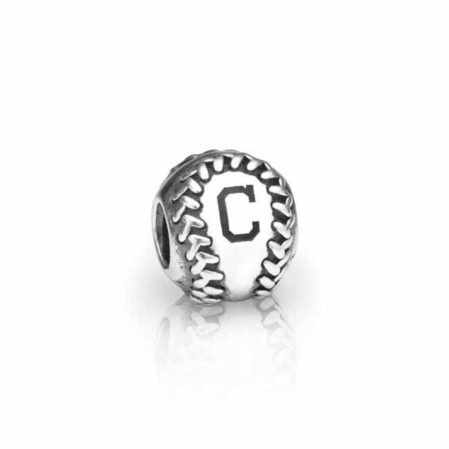 Pandora Cleveland Indians Baseball Charm