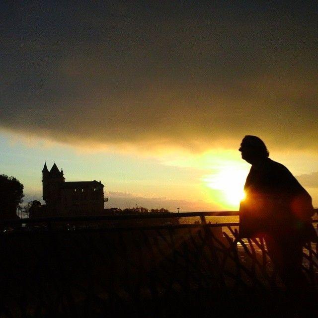 Stormy Sunset à Biarritz #belza #villabelza #biarritz #sunset #storm #cetusbiarritz #view