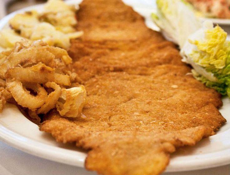 Escalope de ternera Armando Reserva online para comer carne. EligeTuPlato.es