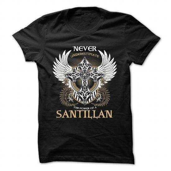 SANTILLAN - #shirt for girls #bachelorette shirt. GET => https://www.sunfrog.com/Camping/SANTILLAN-Black-89285021-Hoodie.html?68278
