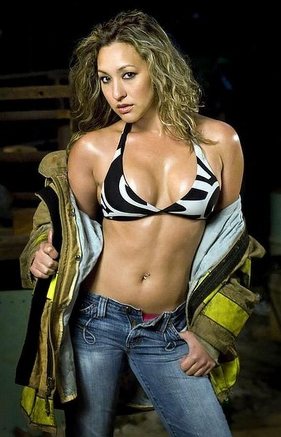 sexy female firefighter pics