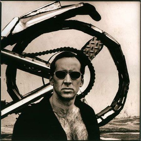 Nicolas Cage by Anton Corbijn