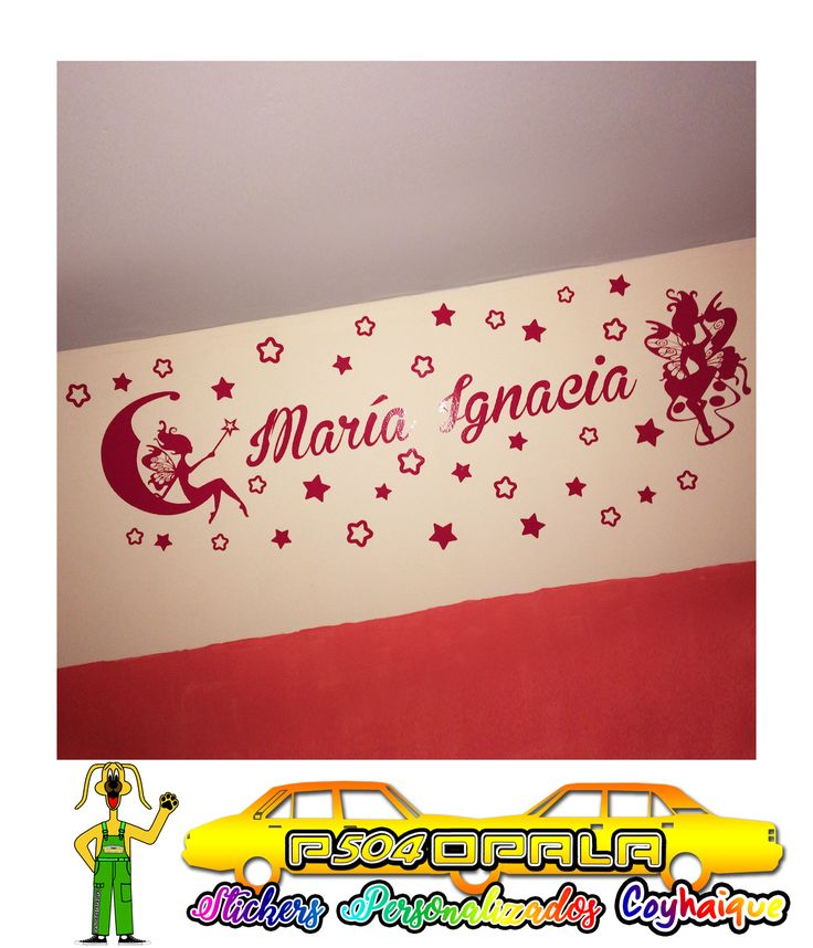 Mural con diseños variados