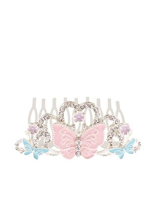 Butterfly Tiara Comb