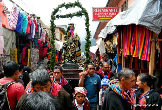 Guatemala, Mercado de Chichicastenango