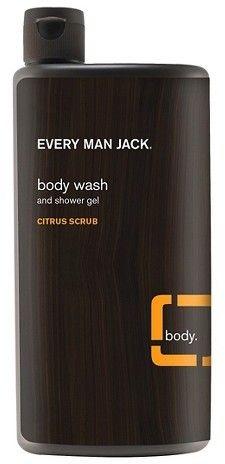 Every Man Jack Citrus Scrub Body Wash - 6.9oz