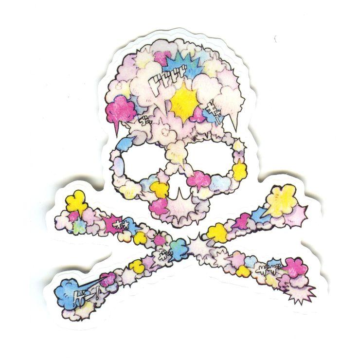 #1557 Mastermind Japan Skull logo , Width 8 cm decal sticker - DecalStar.com
