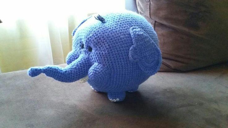 Amigurumi elefante amigazazo