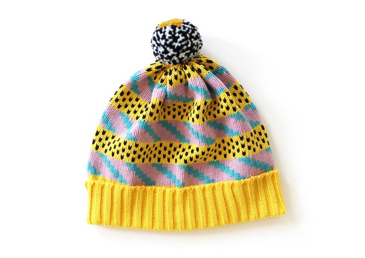 This classic stocking hat has a folded 2x2 rib band with a unique, handmade pom for every style. 100% ringspun cotton. Pom will vary from what is pictured, read more here. S/M fits most adult heads. Made to order, allow 1 week before delivery.