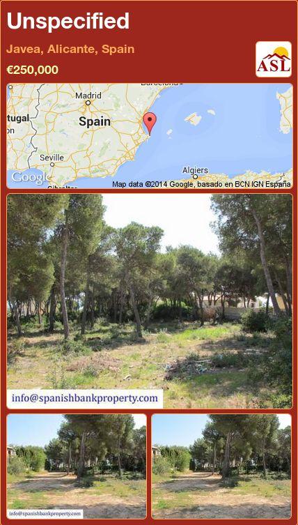Unspecified in Javea, Alicante, Spain ►€250,000 #PropertyForSaleInSpain