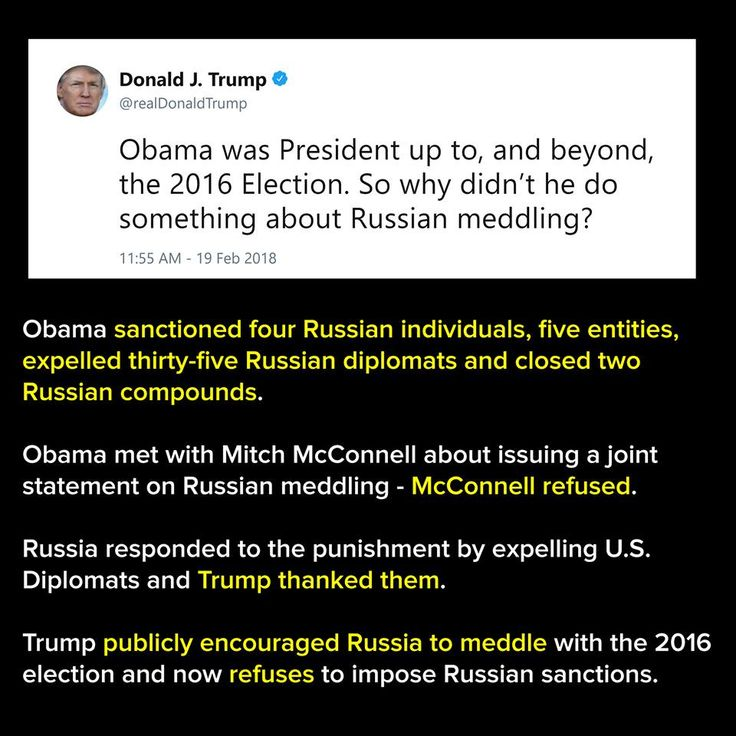 Congress approved sanctions on Russia but Trump has refused to implement them.  How bad does this have to get?