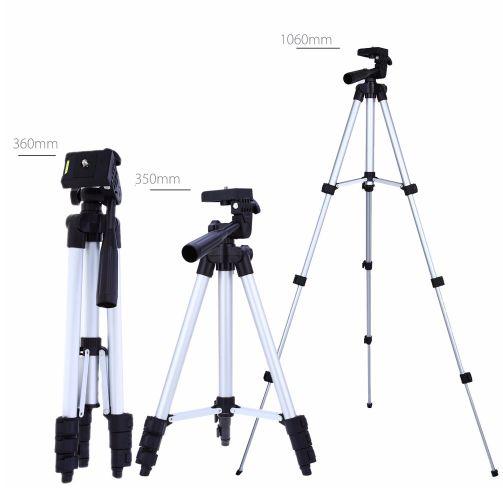 Professional Portable Mini Camera Stand Tripod Clip Bracket Holder Flexible Aluminum Tripod
