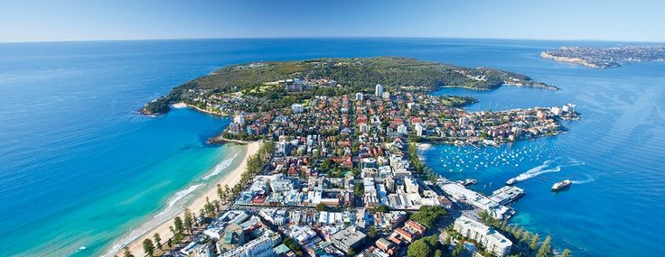 Manly from the air