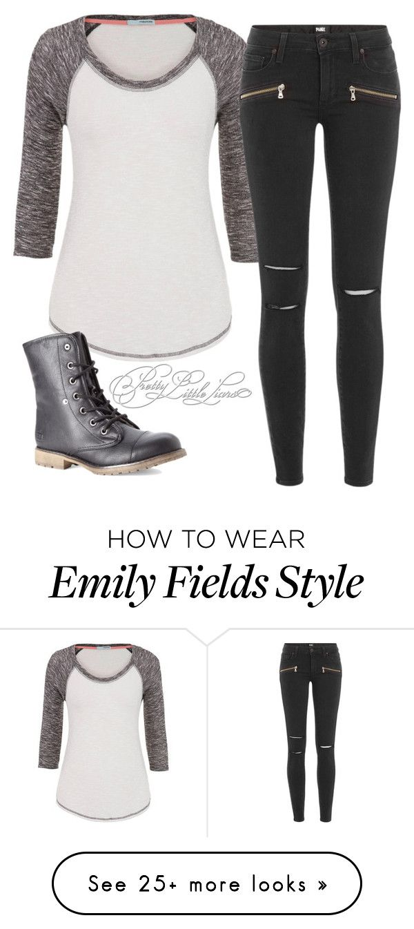 """Emily Fields Inspired S5"" by kittylovesxoxo on Polyvore featuring maurices, Paige Denim and Dirty Laundry"