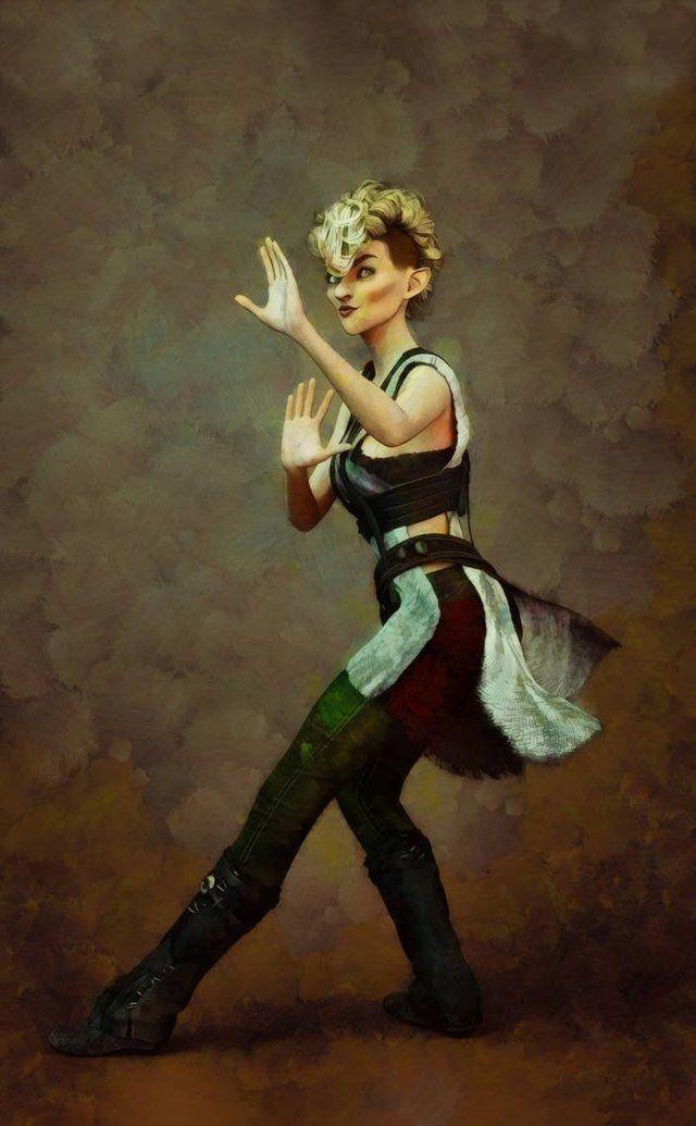 RF] Drunken master female gnome monk street urchin