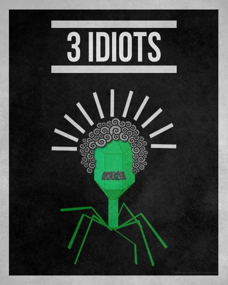 3 Idiots (2009) ~ Minimal Movie Poster by Hydrogene Portfolio #amusementphile