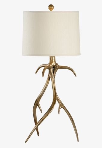 23344 Antler Hall Lamp Brass By Wildwood Lamps * Add Style With Designer Table  Lamps From. Tropical ...