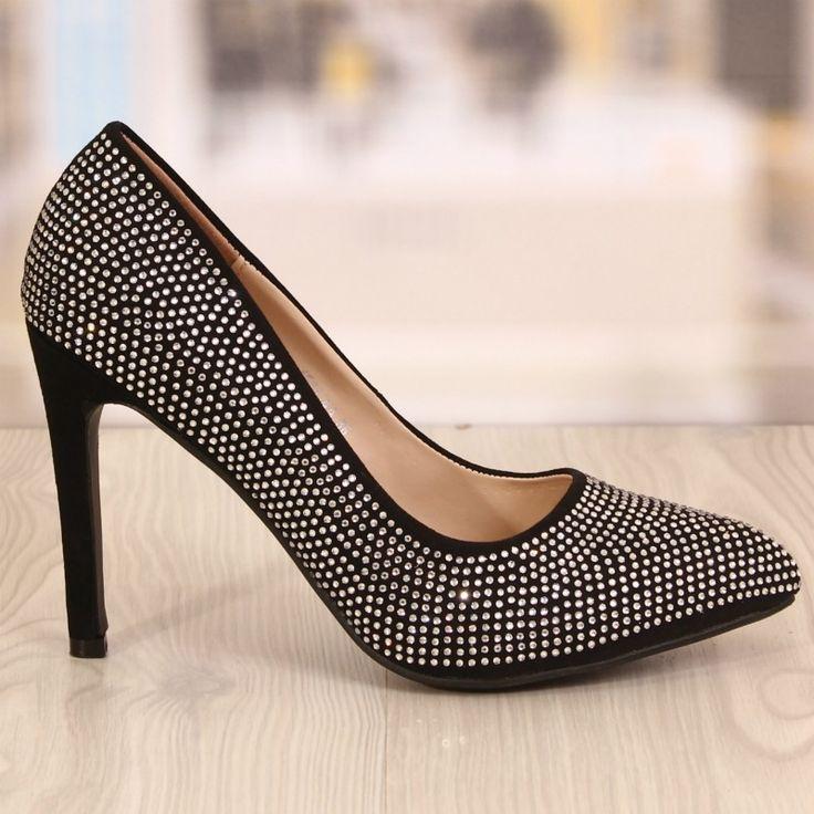 Pantofi Dama Stellar Negrii Cod: 763