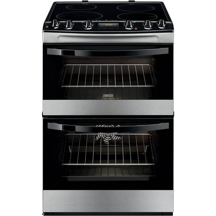 Zanussi ZCI68300XA 60cm Electric Induction Cooker in Stainless Steel