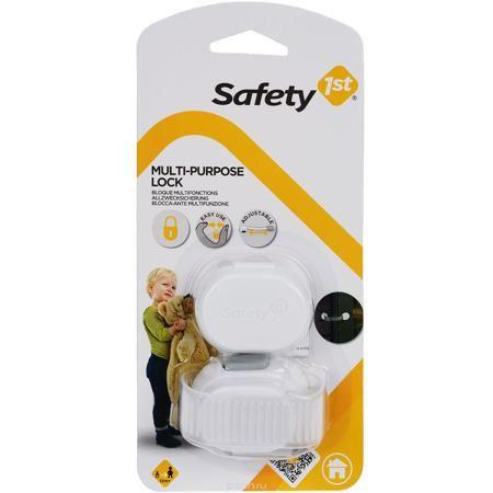 """Блокиратор на холодильник """"Safety"""", цвет: белый  — 420р. ------- Блокиратор на холодильник """"Safety"""" не позволит ребенку открыть дверцу холодильника, морозильной камеры, духового шкафа, микроволновой печи, а также шкафы и ящики. Может использоваться на углах и неровных поверхностях. Крепится на стеклянные, ламинированные, пластмассовые, металлические поверхности, в том числе на холодильники и морозильные камеры. Блокиратор крепится на клейкую основу. Легко демонтируется при необходимости."""