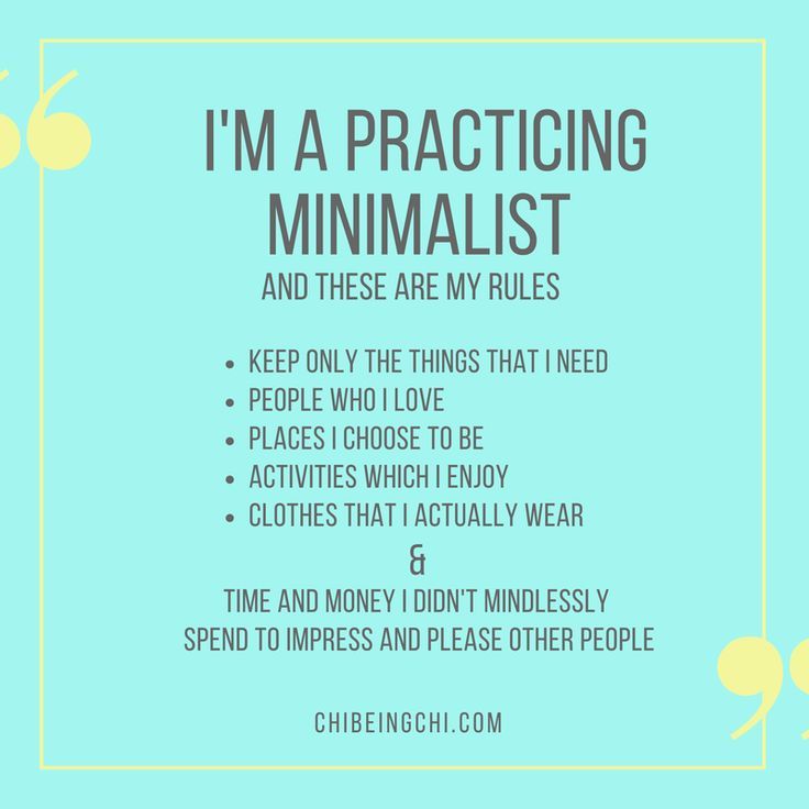 What does being a practicing minimalist mean? For me, it means choosing a journey to find personal freedom and happiness, not defined by material possessions, but by the rich life experiences found in nature, oneself, and people we love. What's your definition and guidelines. Please share <3 Join our community and get daily tips and support in your minimalism journey. Get your free intro Ebooklets to start http://eepurl.com/clK9nj