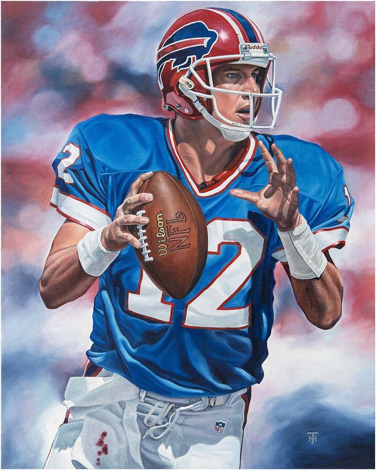 Jim Kelly, Buffalo Bills by Tony Harris