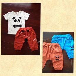 Panda set #boy #girl #baju #anak #bayi #balita