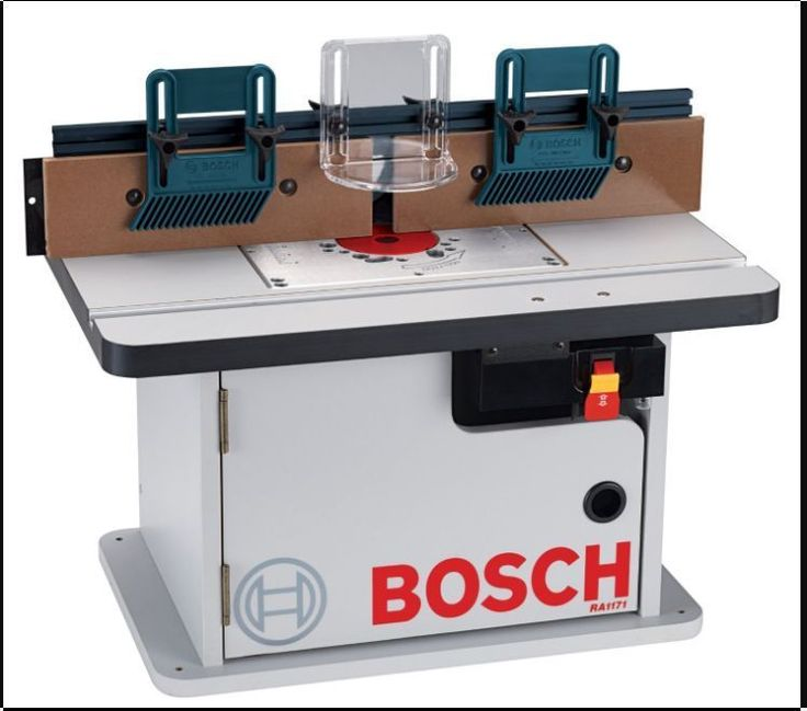 Shaper Router Table Saw With Attachment Add On Cut Shape Wood At Home Tool Work #Bosch