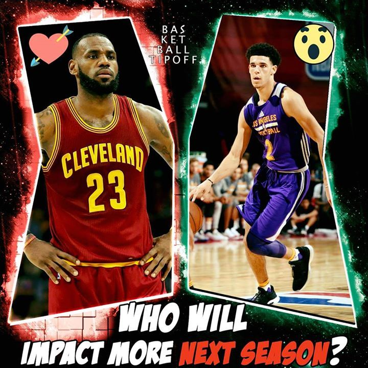 Lonzo Ball vs Lebron James.  Who will truly have a bigger impact on the NBA this season?  Is.... the resurgence of the Los Angeles Lakers presuming it happens larger than another loss in the NBA finals.  You cannot spell Lose without Los from Los Angles even Illuminati and the spirit world suggest Lebron James is going to the Angles.  Lonzo Ball does not have the personality of a star he is a lot more like Kawhi than Kobe personality wise. His dad does make up for it and speak a lot of his…