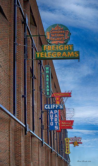 Neon Museum - Edmonton, Canada ~Repinned Via Kim Constantine