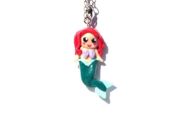 Ariel ariel necklace disney ariel cute ariel by LittlePandahugs