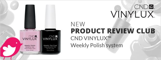 New+Product+Review+Club+Offer:+CND+VINYLUX+Weekly+Polish