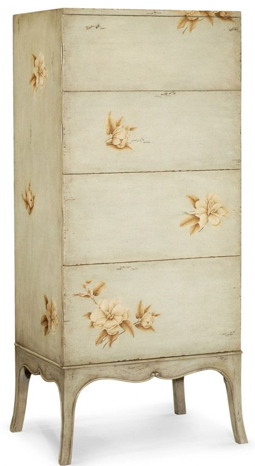 just lovelyPainting Chest, Boys 4 990, Tall Boys, Beautiful Piece, Painting Floral, Large Floral, Floral Tall, Charles Painting, Boys 4990