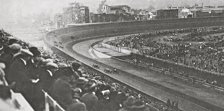 Culver City, Cal Board Track mid 1920's . .notice the
