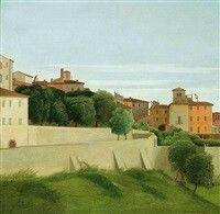 Paesaggio (Perugia), 1939 Antonio Donghi